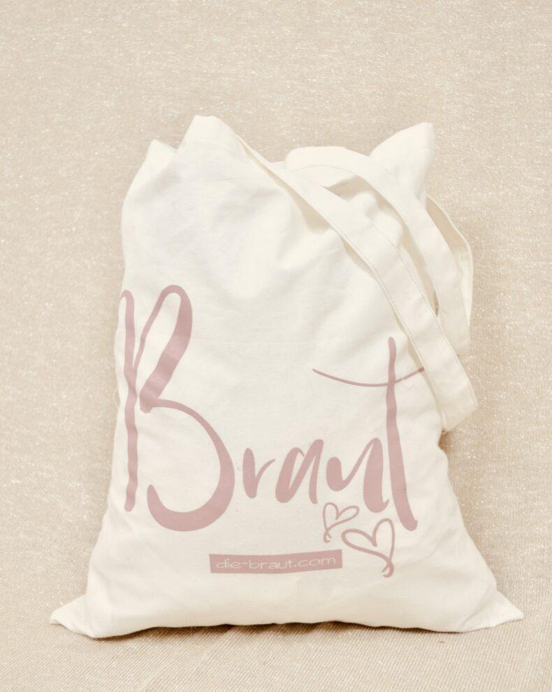 Baumwolltasche Braut