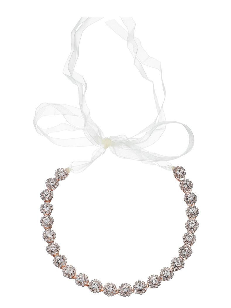 Haarband mit Kristallen