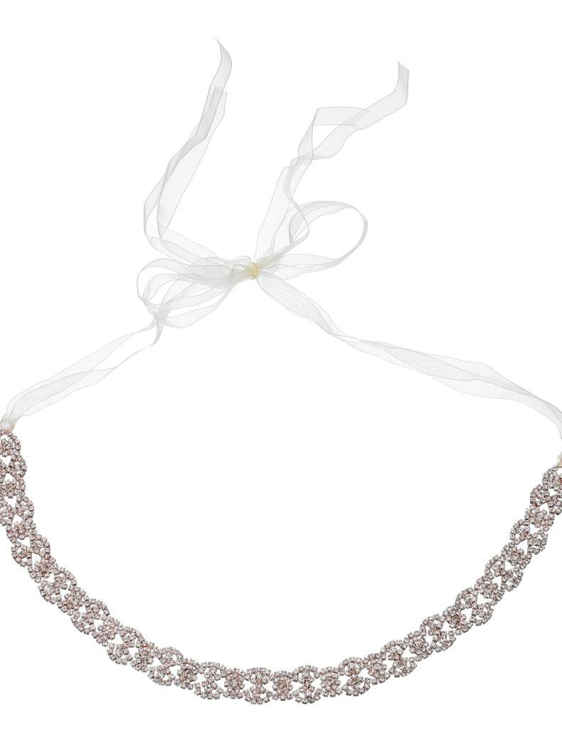 Brautgürtel mit Glitzersteinen