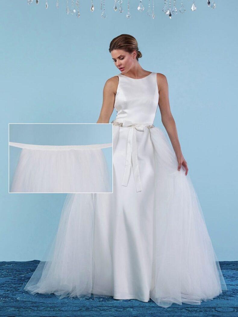 Braut Überrock
