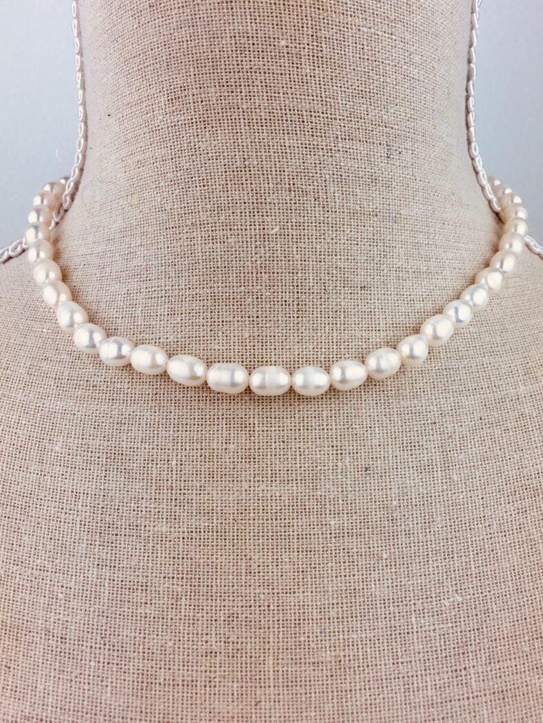 Halskette Perlen 40cm
